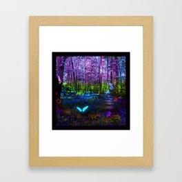 Return to Wonderland Framed Art Print