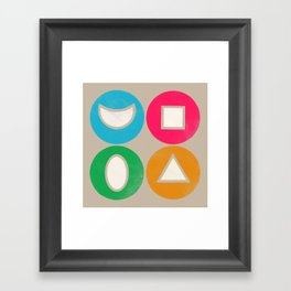 elements 1 Framed Art Print