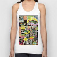 canada Tank Tops featuring Vivita Spa KOMIX #1 by Tex Watt