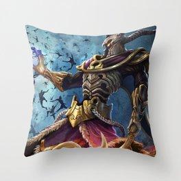 Smite Hades Throw Pillow
