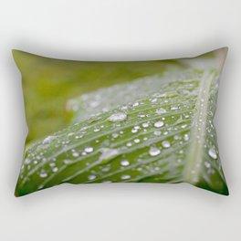 A rainy day Rectangular Pillow