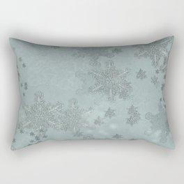 Snowflake Chrismas design Rectangular Pillow