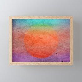 Solar Framed Mini Art Print
