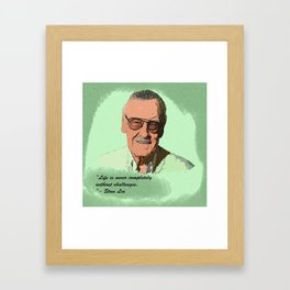 Stan Lee Desain 001 Framed Art Print