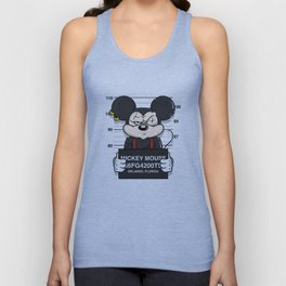 Bad Guys / Mickey Mouse Unisex Tank Top