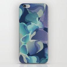 Micro Blue iPhone & iPod Skin