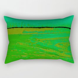Square Abstract No. 8G by Kathy Morton Stanion Rectangular Pillow