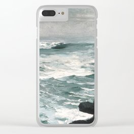 A visit to Winslow Homer's Cannon Rock Clear iPhone Case