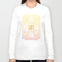 pacman Long Sleeve T-shirts featuring PACMAN by HERENOW