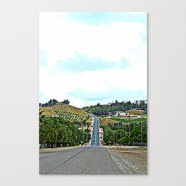 road up Canvas Print