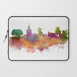 Warsaw skyline Laptop Sleeve