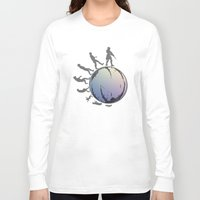 arsenal Long Sleeve T-shirts featuring Space Evolution  by Astrablink7