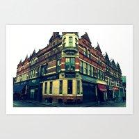 Quiet England Street Art Print