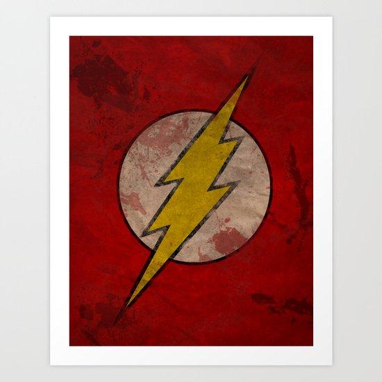 Remember The Flash Art Print