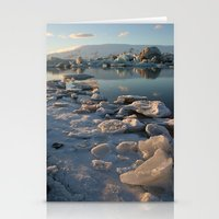 iceland Stationery Cards featuring Iceland by Tamara Rogers