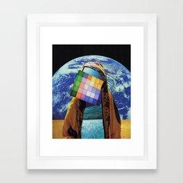 Atman Suffix Framed Art Print