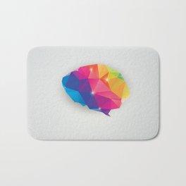 Geometric brain Bath Mat