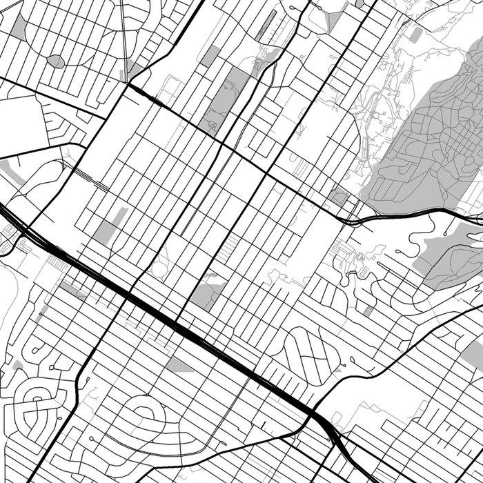 Montreal Map Gray Leggings