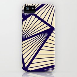 Lines Goal iPhone Case