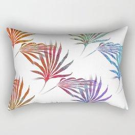 Palmetto Fronds Tropical Pattern Rectangular Pillow