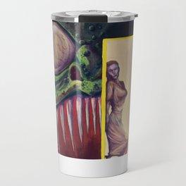 """Bite of the Reptile Woman"" Movie Poster Travel Mug"