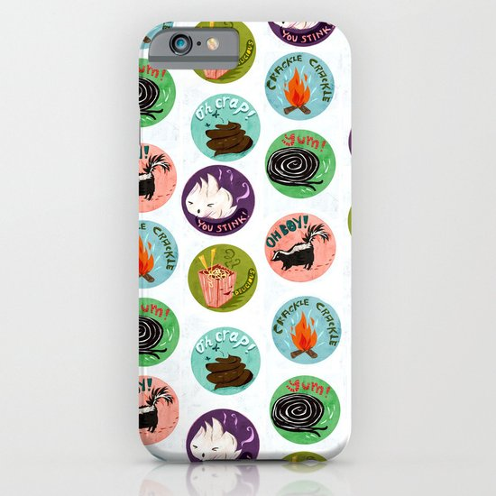 Scratch and Sniff iPhone & iPod Case