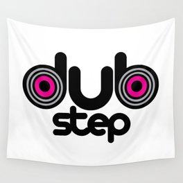 Dubstep Speakers Rave Quote Wall Tapestry