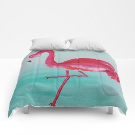 Frank the Flamingo Comforters