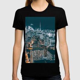 Toronto by night - City at night T-shirt
