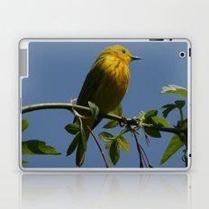 Yellow Warbler Laptop & iPad Skin