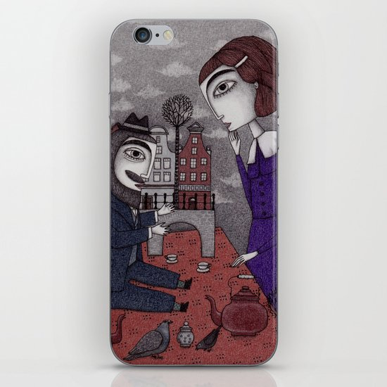 The Story Teller iPhone & iPod Skin