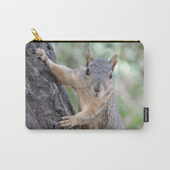 The Who You Lookin At Squirrel Carry-All Pouch