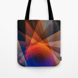 A Receptive Mind is Connected Tote Bag