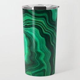 Emerald Marble Travel Mug