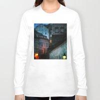 bohemian Long Sleeve T-shirts featuring Bohemian Nights by Bella Blue Photography