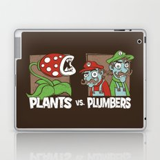 Plants Vs Plumbers  Laptop & iPad Skin