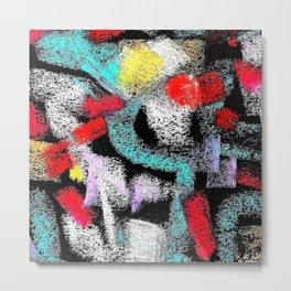 osile multicolor multicolor Metal Print