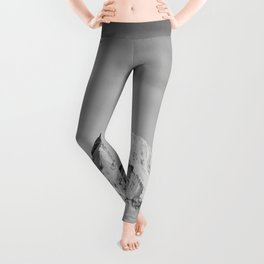 Mount Hood - Snow Capped Mountain Adventure Nature Photography Leggings