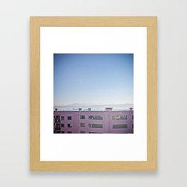 Valpariso Framed Art Print