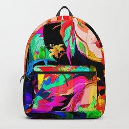 She Grows Violet Backpack