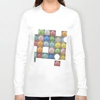 balloons Long Sleeve T-shirts featuring Balloons by Mary Kilbreath