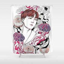 BTS J-HOPE Shower Curtain