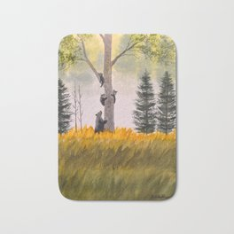 Bears In The Blue Ridge Mountains Bath Mat