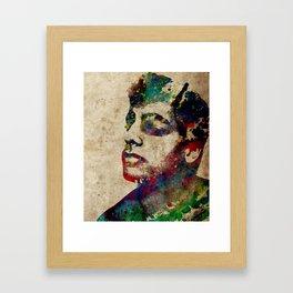 Kolorful Kimon Framed Art Print