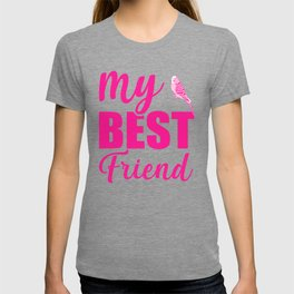 My Best Friend Is A Budgie mag T-shirt