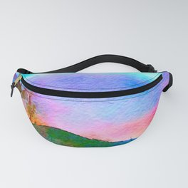 Rainbow, The Eden of Creativity Fanny Pack