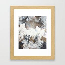 """Dove in Flight"" Framed Art Print"