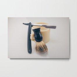 Barber Metal Print