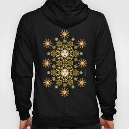 Snow Flake by ©2018 Balbusso Twins Hoody