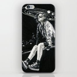 Spacing Out iPhone Skin
